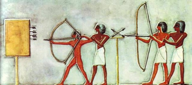 egyptian archery
